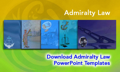 Admiralty Law Legal PowerPoint Templates