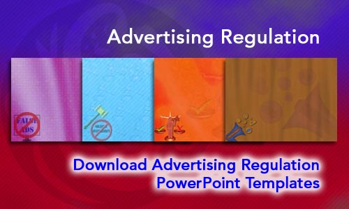 Advertising Regulation Legal PowerPoint Templates