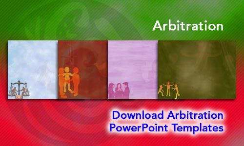 Arbitration Legal PowerPoint Templates