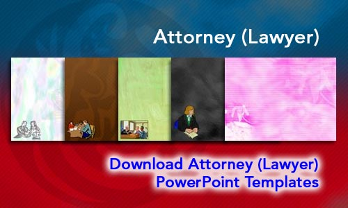 Attorney (Lawyer) Legal PowerPoint Templates