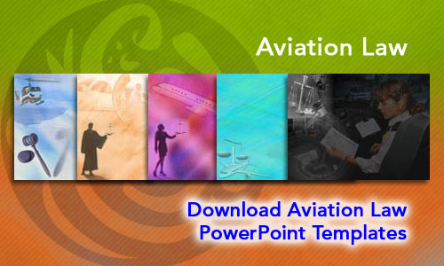 Aviation Law Legal PowerPoint Templates