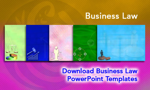 Business Law Legal PowerPoint Templates