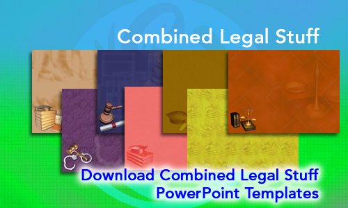 Combined Legal Stuff  Legal PowerPoint Templates