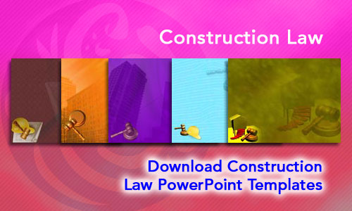 Construction Law Legal PowerPoint Templates