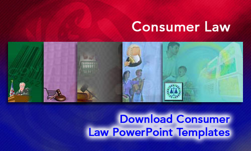 Consumer Law Legal PowerPoint Templates