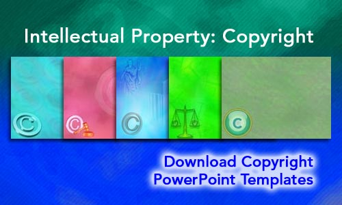 Intellectual Property: Copyright Legal PowerPoint Templates