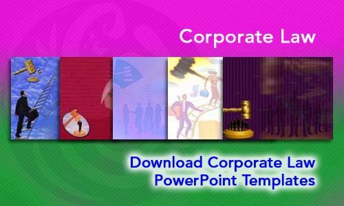 Corporate Law Legal PowerPoint Templates