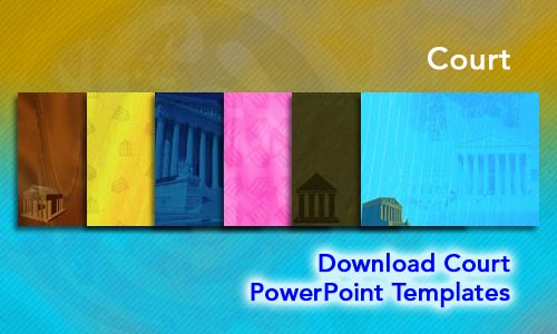 Court Legal PowerPoint Templates