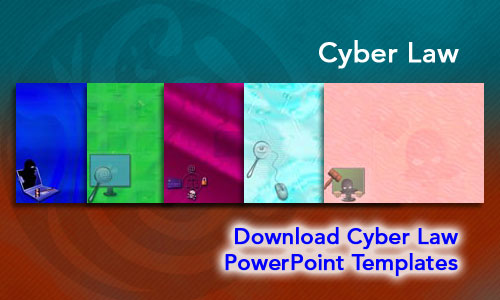 Cyber Law Legal PowerPoint Templates