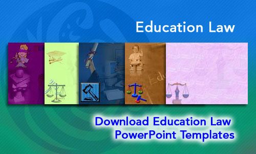 Education Law Legal PowerPoint Templates