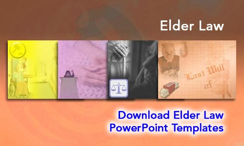 Elder Law Legal PowerPoint Templates