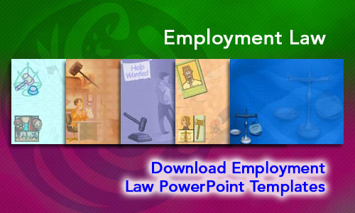 Employment Law Legal PowerPoint Templates