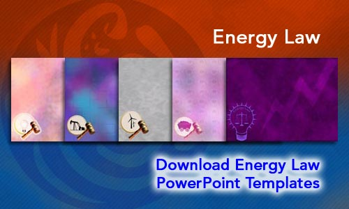 Energy Law Legal PowerPoint Templates