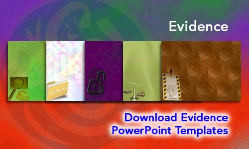 Evidence  Legal PowerPoint Templates