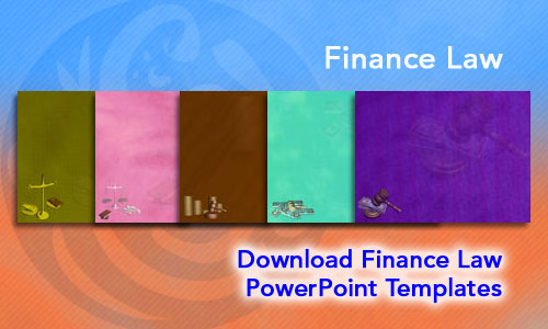 Finance Law Legal PowerPoint Templates