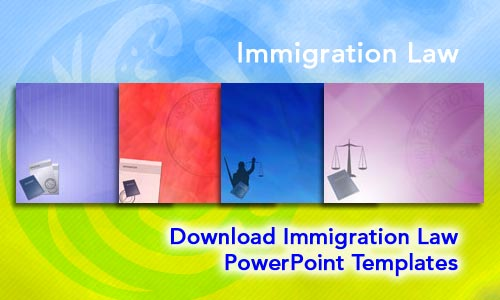 Immigration Law Legal PowerPoint Templates