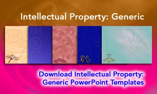 Intellectual Property (Generic) Legal PowerPoint Templates