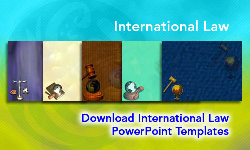 International Law Legal PowerPoint Templates