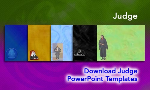 Judge Legal PowerPoint Templates
