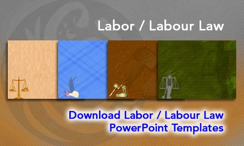 Labor / Labour Law Legal PowerPoint Templates