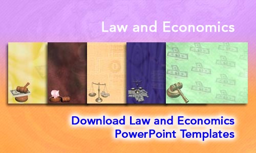 Law and Economics Legal PowerPoint Templates