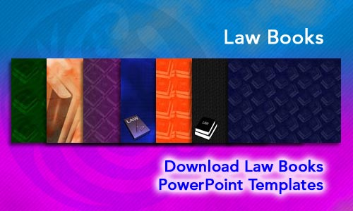 Law Books Legal PowerPoint Templates