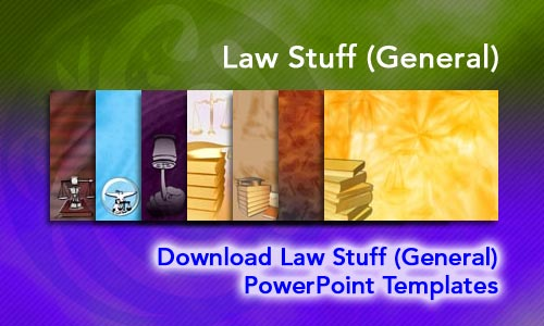 Law Stuff (General) Legal PowerPoint Templates