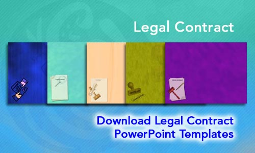 Legal Contract Legal PowerPoint Templates