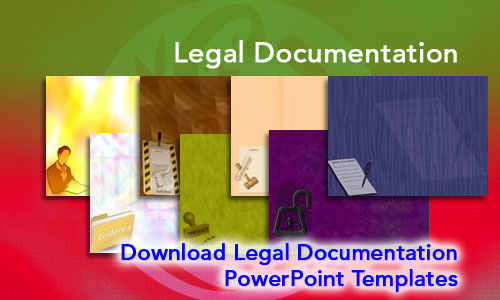 Legal Documentation Legal PowerPoint Templates
