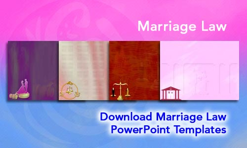 Marriage Law Legal PowerPoint Templates