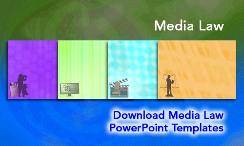 Media Law Legal PowerPoint Templates