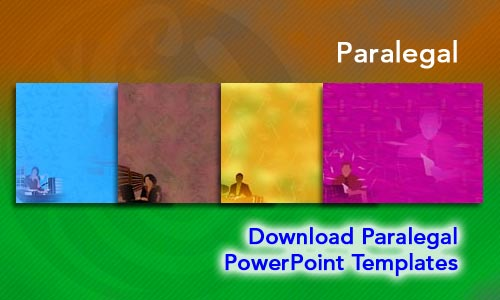 Paralegal Legal PowerPoint Templates
