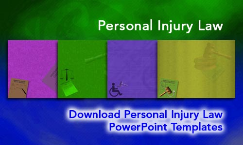 Personal Injury Law Legal PowerPoint Templates