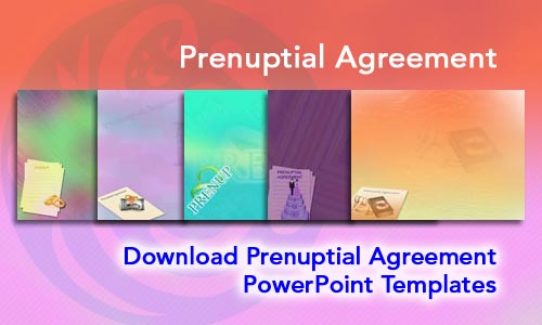 Prenuptial Agreement Legal PowerPoint Templates