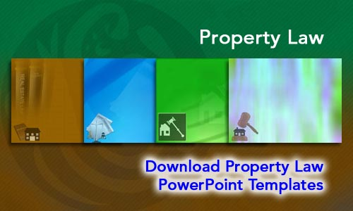 Property Law Legal PowerPoint Templates