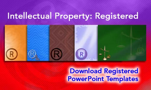 Intellectual Property: Registered Legal PowerPoint Templates