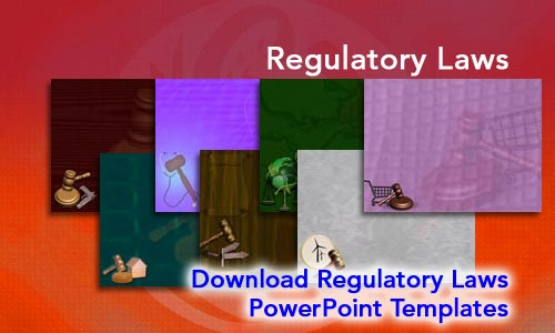 Regulatory Laws Legal PowerPoint Templates