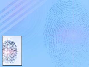 Fingerprints Legal PowerPoint Templates