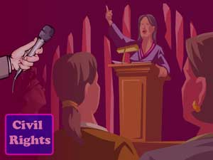 Civil Rights Legal PowerPoint Templates