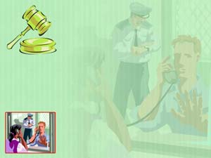 Criminal Law Legal PowerPoint Templates