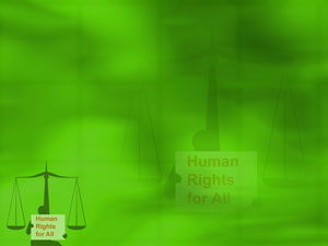 Human Rights Law Legal PowerPoint Templates