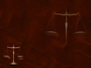 Scales of Justice Legal PowerPoint Templates