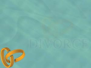 Divorce Legal PowerPoint Templates