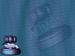 Alimony Legal PowerPoint Templates
