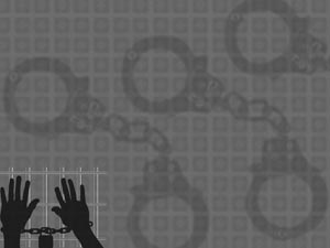 Prisoner Legal PowerPoint Templates